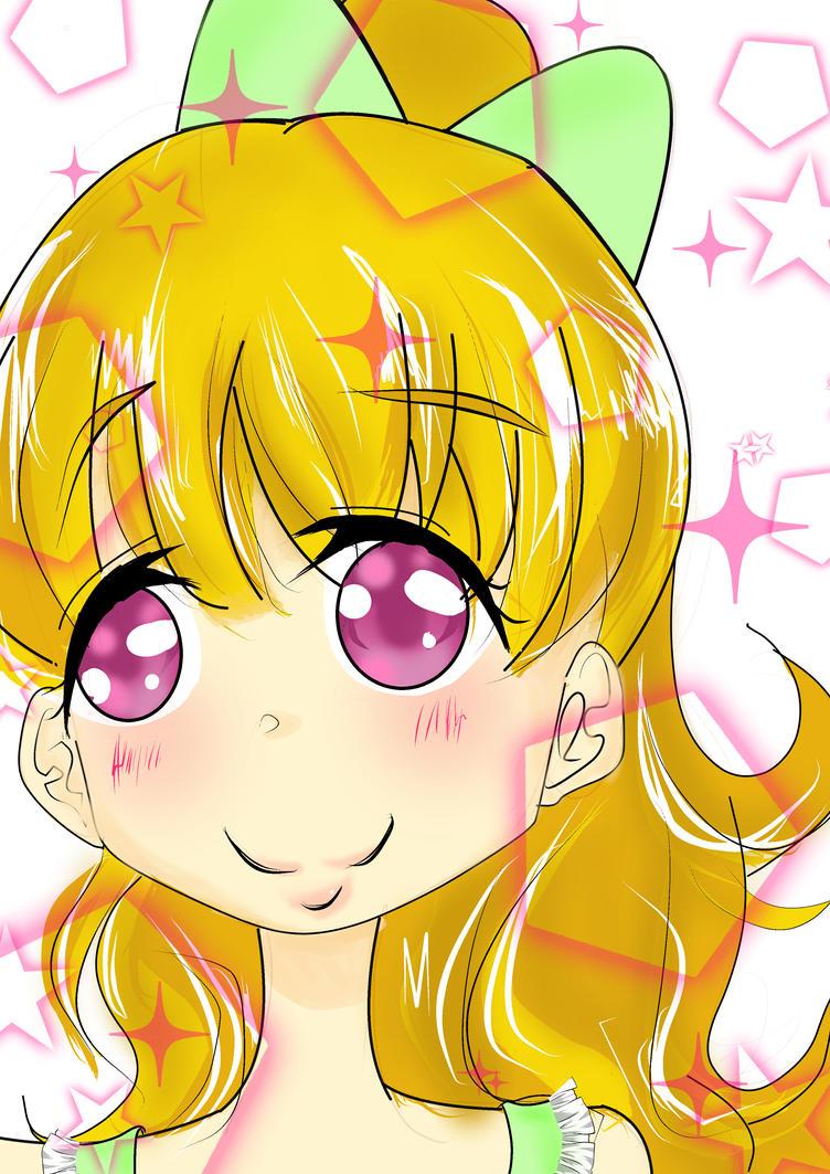 kawaii anime girl by Tenzys