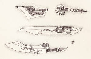 Weapon Concepts 3 by Ironwulfen