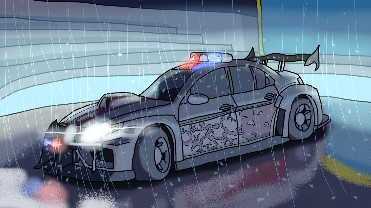 Ford Police Interceptor custom by OopsyBearOS