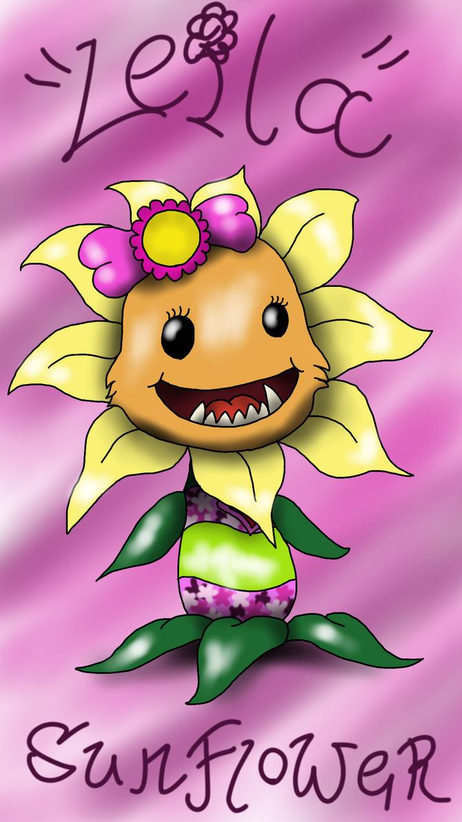 Leila Primal Sunflower by OopsyBearOS