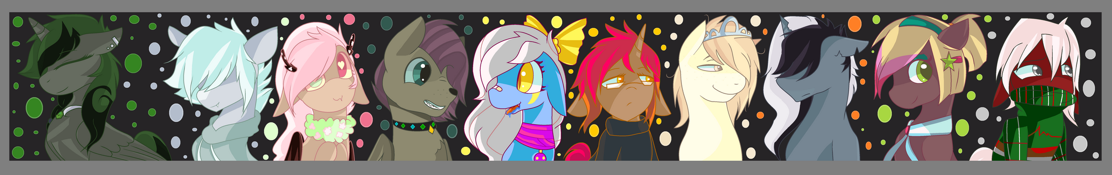 Princess Catastrophe and her subjects by xxSactaviaxx