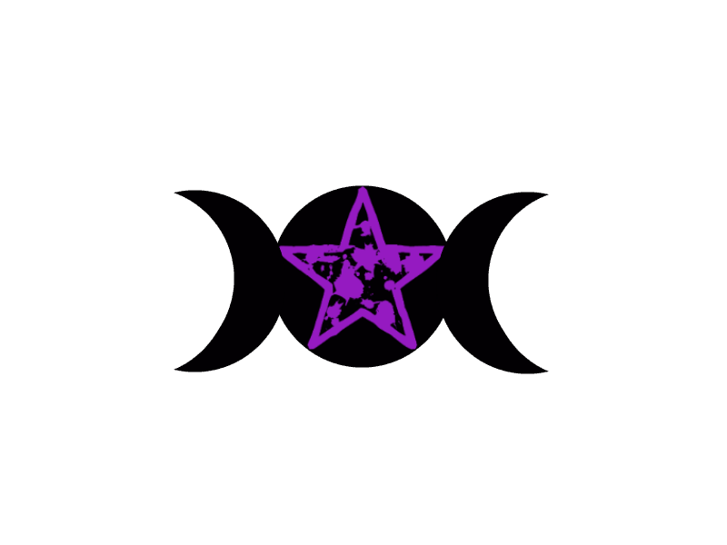 Triple Goddess Symbol with star PNG by GraceGallows on ...