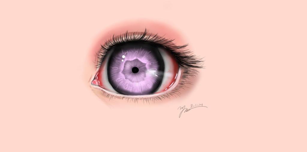 Saccstry Inspired Eye by meganllama