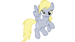 Derpy Hooves Flying (Vector)