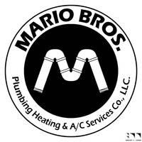 Mario Bros. Plumbing Logo by robertllynch