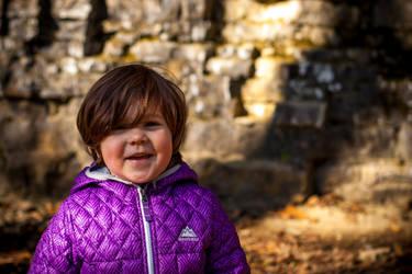 Portrait of a Child by robertllynch