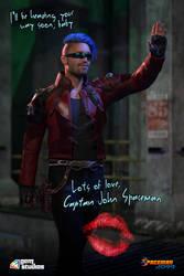 Captain Spaceman - Teaser Poster