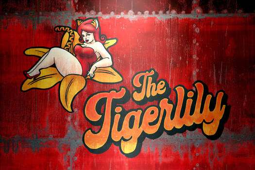 The Tiger Lily - Nose Art