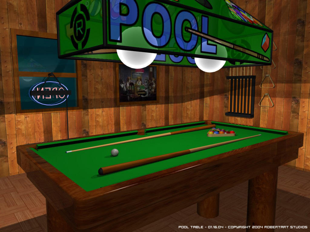 Pool Table By Robertllynch On DeviantArt