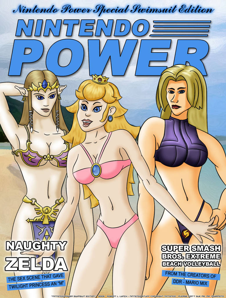 NintendoPower Swimsuit Edition by robertllynch