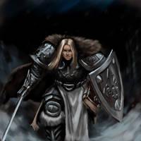 warrior by AntonRosovsky
