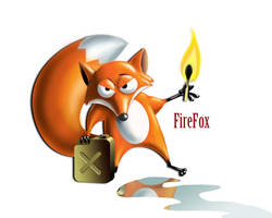 Firefox by AntonRosovsky