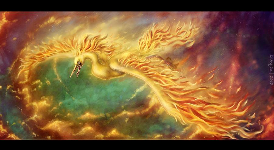 Fire storm by ksenyan
