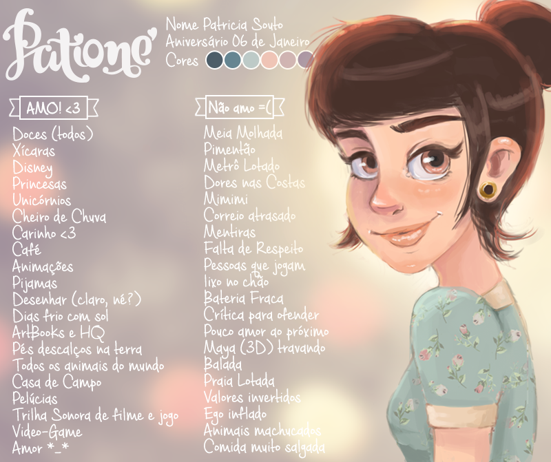 #MeetTheArtist by patione