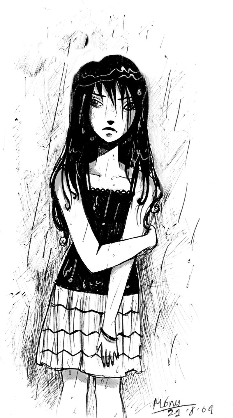 Drenched In Rain By Noxmoony On Deviantart