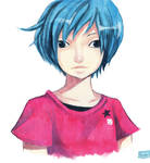 Blue Haired Kid