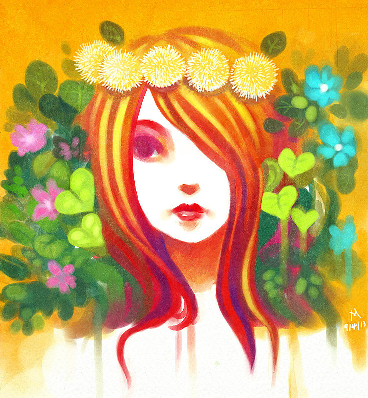 Ze Lady Of Nature By Noxmoony On DeviantArt