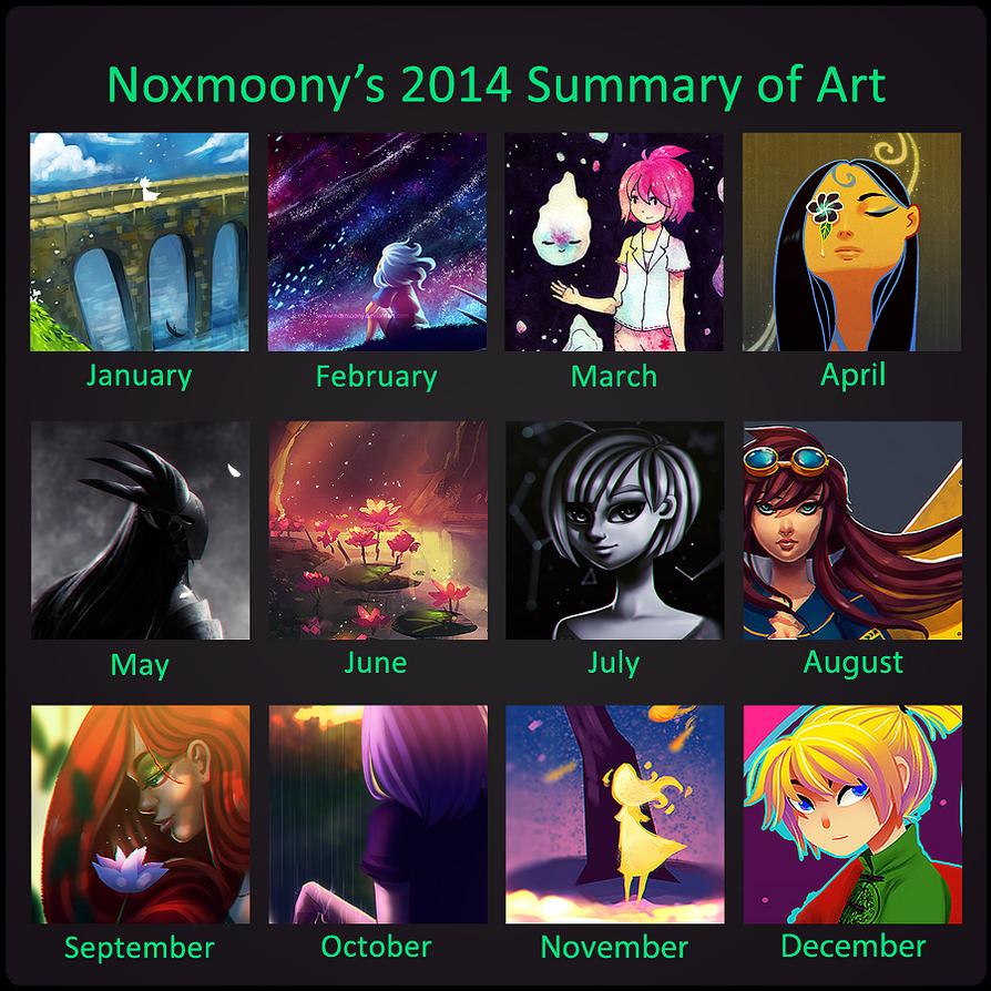 Summary of Art 2014 by Noxmoony