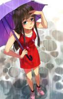 Day 07 - Rainy Day by Noxmoony