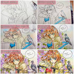 Watercolour Process  +Want Some?+ by Noxmoony