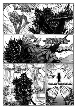 Thorn of hate - Dark Souls comic PAG 9