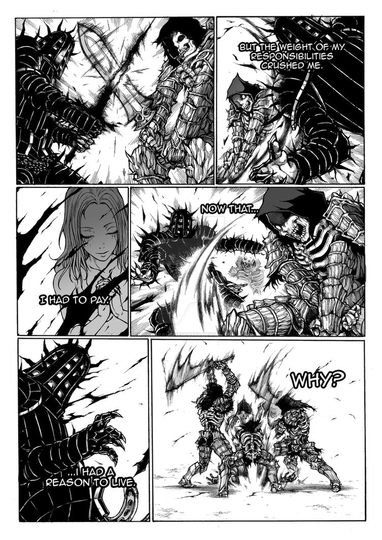 Thorn of hate - Dark Souls comic PAG 12 by thunderalchemist18