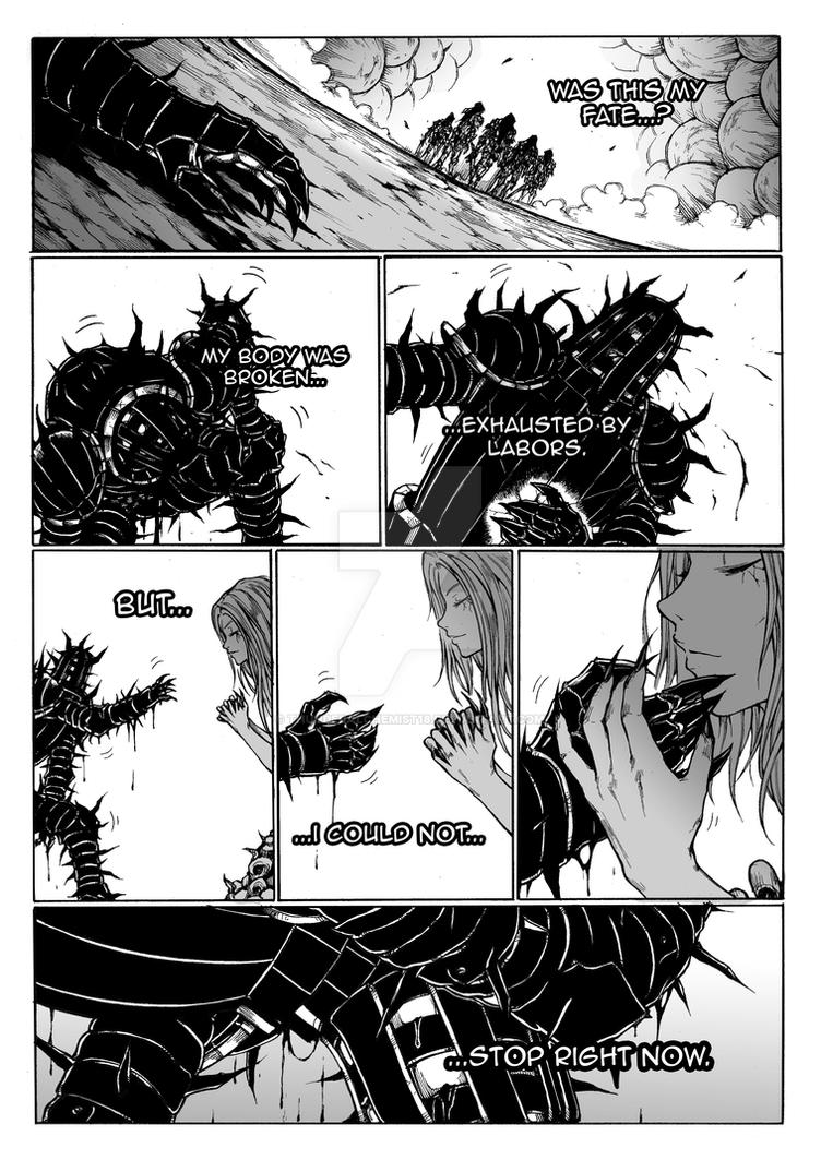 Thorn of hate - Dark Souls comic PAG 13 by thunderalchemist18