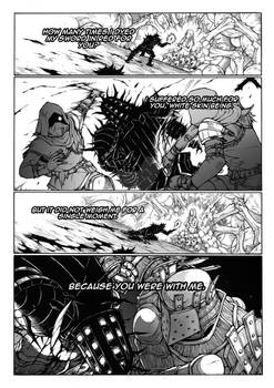 Thorn of hate - Dark Souls comic PAG 15