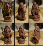 Miniature Dwarf Wizard - WiP