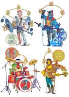 Four Devarajas