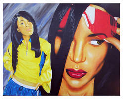 Aaliyah by thedeependcrossfade
