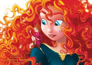 Arrietty + Merida