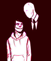 Slender And Jeff by Blaye-Hatsuki11