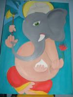 Ganesha by FrenzyMr