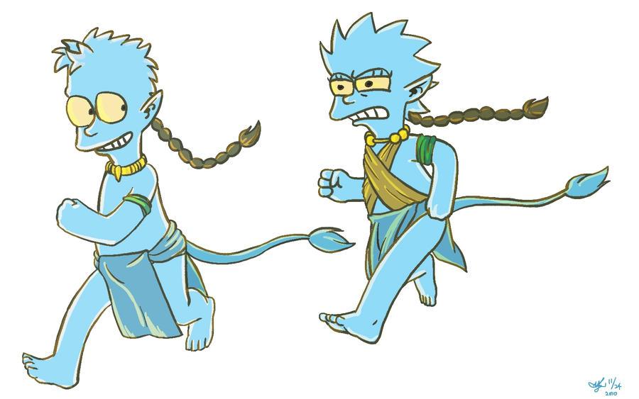 The Simpsons Avatar by bluefox117