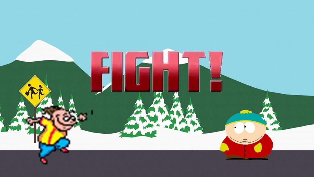 Cartman fight midget