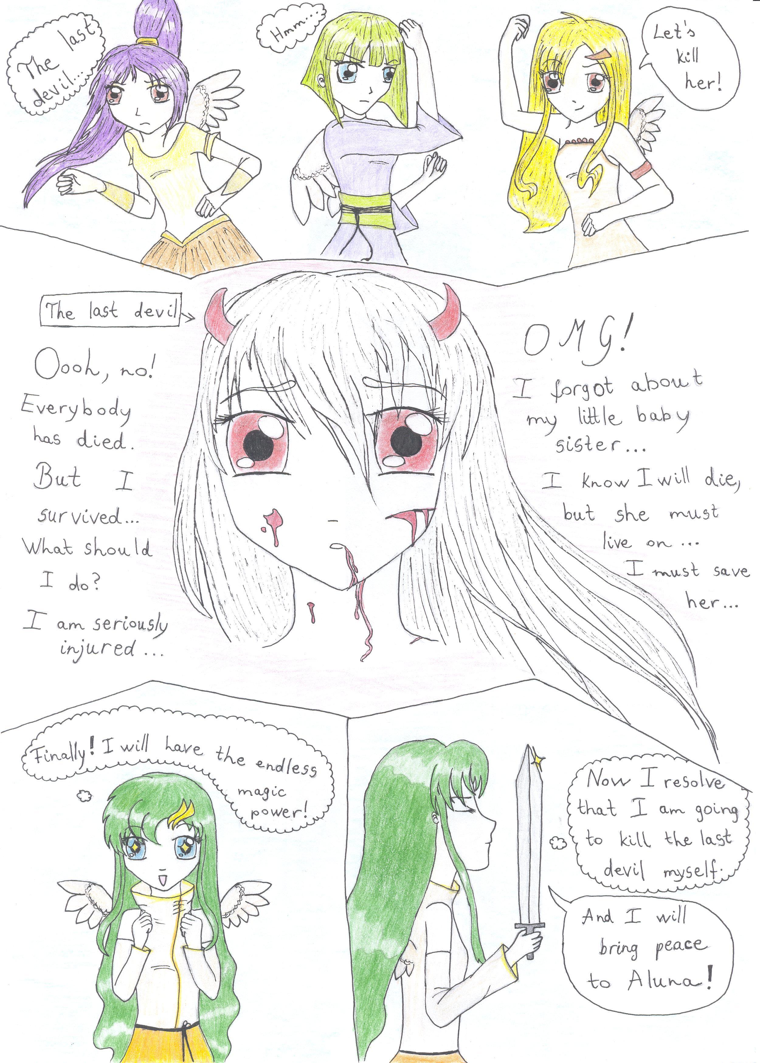 Angel vs devil 3 by Glooriah on DeviantArt