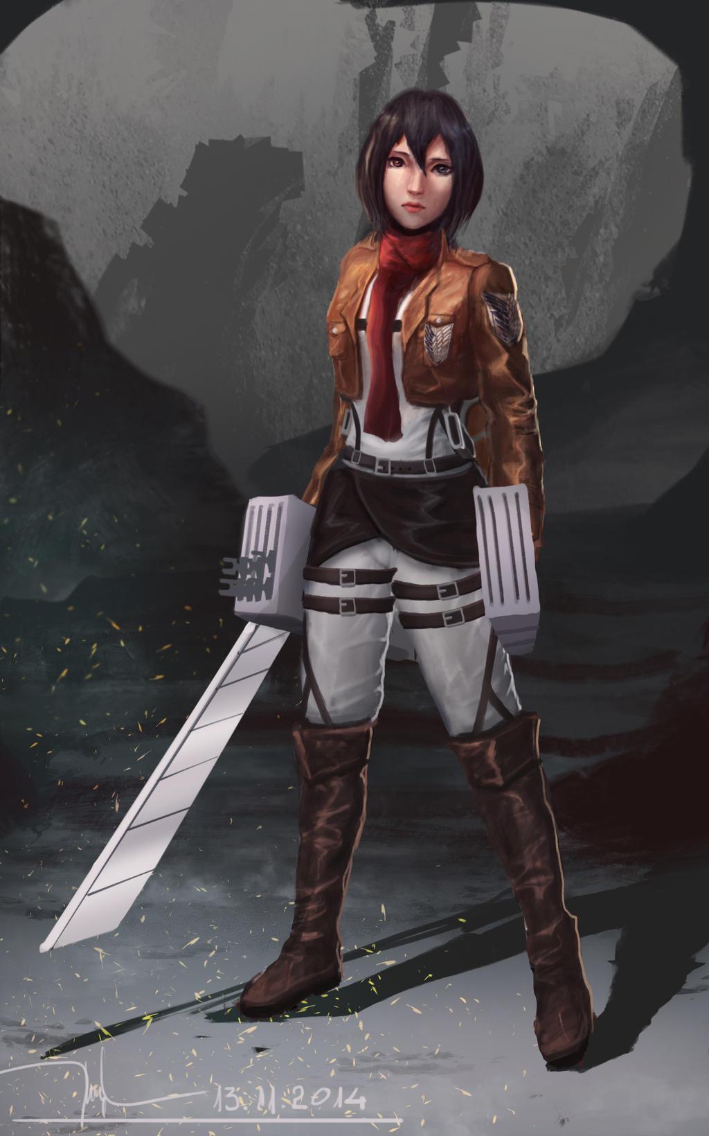 Mikasa Ackerman - Shingeki no Kyojin