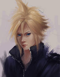 Cloud Strife by Norvice