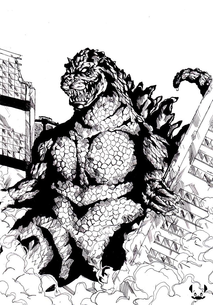 Godzilla by Kutang69