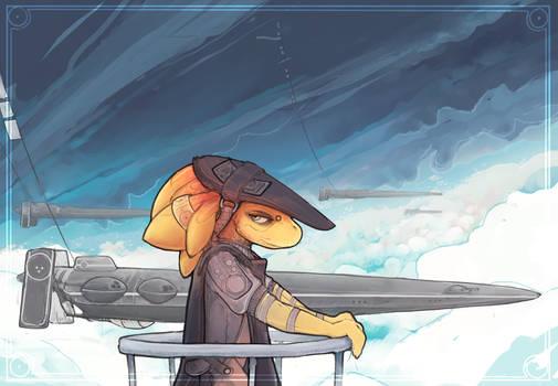 captain lizard