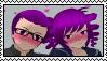 Riku x Kokona Stamp by Pegasister28
