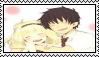 Rin x Shiemi Stamp by Pegasister28