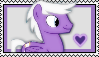 Silver Script Stamp by Pegasister28