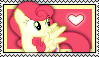 Strawberry Sunrise Stamp by Pegasister28