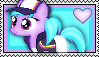Azure Velour Stamp by Pegasister28
