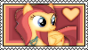 Whirlwind Romance Stamp by Pegasister28