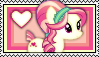 Scarlet Heart Stamp by Pegasister28