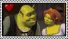 Shrek x Fiona Stamp