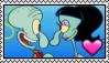 Squidward x Squilvia Stamp